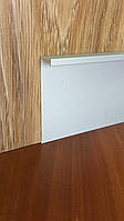 Алюминиевый скрытый плинтус SMG-100/73 Silver