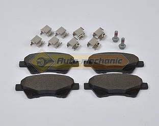Дисковые тормозные колодки (передние) (4x4) на Renault Kangoo 2001->2008  - Ferodo (Англия) - FDB1544
