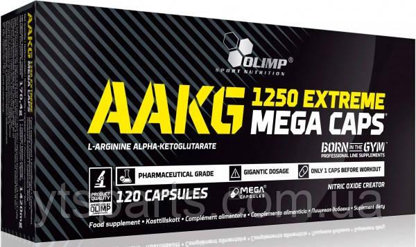 Olimp AAKG 1250 Extreme Mega Caps, 120 caps