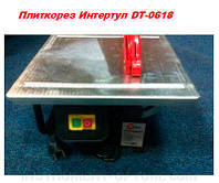 INTERTOOL Плиткорез 450 Вт, 2950 об/мин, глубина реза 34 мм, угол реза 90°, диск 180 мм., DT-0618