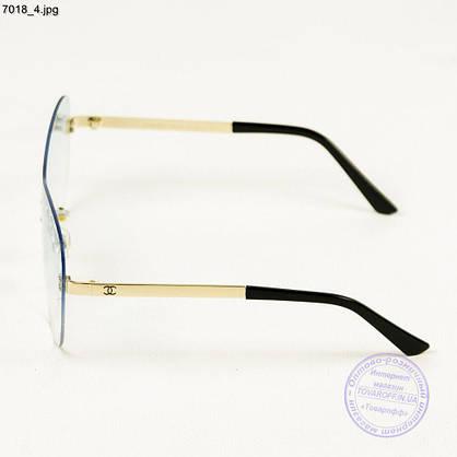 Оптом модные очки Chanel - 7018, фото 3