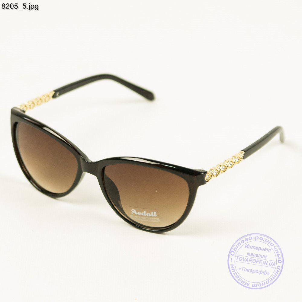Оптом женские солнцезащитные очки Aedoll - коричневый - 8205/1