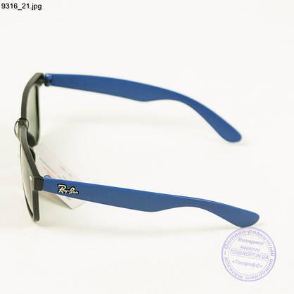 Оптом солнцезащитные очки Ray-Ban Wayfarer унисекс со стеклянной линзой - 9316/3, фото 2