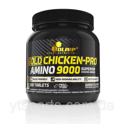 OLIMP Gold Chicken-Pro Amino 9000 mega tabs 300 tab