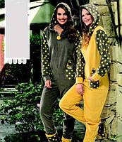 Женская домашняя одежда комбинезон Dika 4633 L