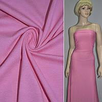 Трикотаж трикотажная ткань трикотажное полотно вискозный розовый ш.150