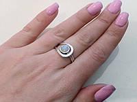 Нежное кольцо с огненным опалом в серебре. Кольцо - огненный опал., фото 1