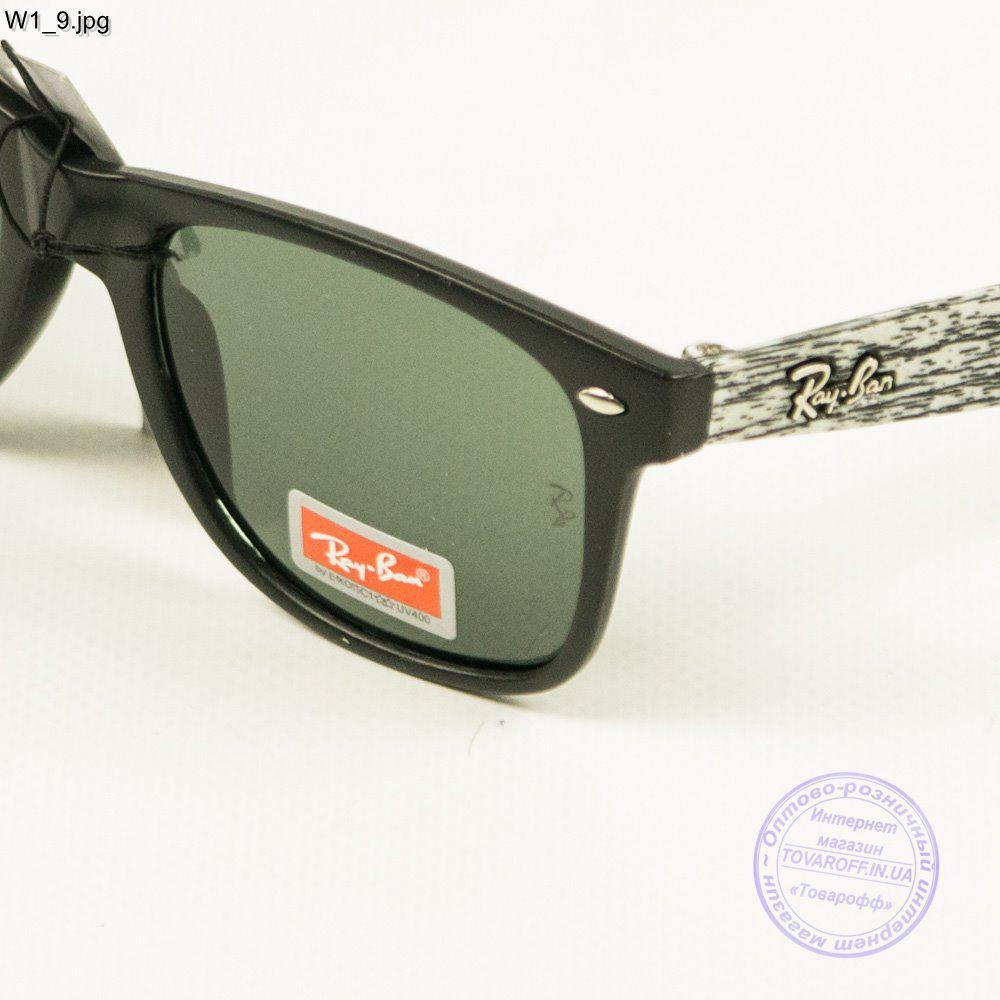 ... Оптом солнцезащитные очки Ray-Ban Wayfarer унисекс со стеклянной линзой  - W1 2 dee76479fa464