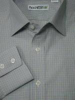 Приталенная рубашка Каштан