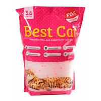 Бест Кет Best Cat силикагелевый наполнитель для кошачьего туалета цветы 3,6 л (1,3 кг)