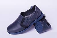 Подростковые туфли из кожи, детская обувь кожаная от производителя модель ДЖ3750