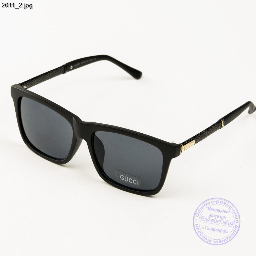 c340e7e47ff8 Оптом брендовые солнцезащитные очки Gucci (реплика) - Черные - 2011 ...