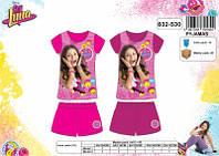 Пижама для девочек оптом,Luna, 4-12 лет.,арт 832-530