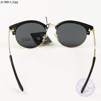 Оптом жіночі сонцезахисні окуляри Gucci (репліка) - JL1390-2, фото 3