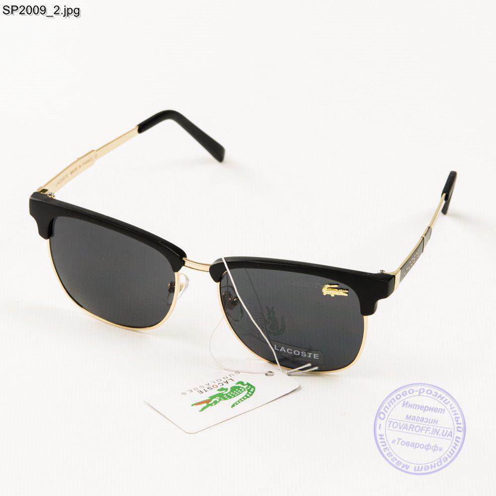 Оптом брендовые женские солнцезащитные очки Lacoste (реплика) - SP-2009