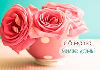 Всем красивым девушкам дарим ПОДАРОК к 8 Марта!