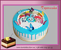 Детский торт Малышарики