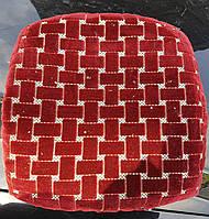 Модная накидка-сидушка на стул оптом и в розницу, комплект 4шт.