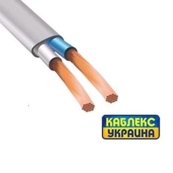 Провод медный ШВВП 2х6 (Каблекс Одесса)