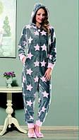 Женская домашняя одежда комбинезон Dika 4657 M