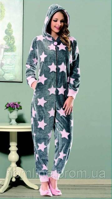fef9cb74fa168 Женская домашняя одежда комбинезон Dika 4657 M, цена 978,63 грн ...
