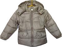 """Куртка детская демисезонная """"Home"""" #9 для мальчиков. 3-4-5-6 лет. Бежевая. Оптом, фото 1"""