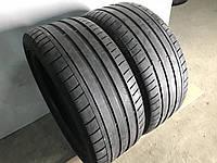 Шины бу лето 245/40R18 93Y Dunlop SP Sport Maxx GT 2шт 4 мм