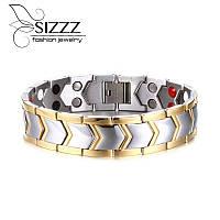 Браслет магнитный (лечебный) Sizzz luxory, фото 1