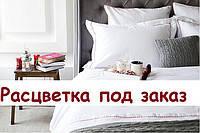 Двоспальний комплект з бязі Голд з простирадлом на резинці 160х200