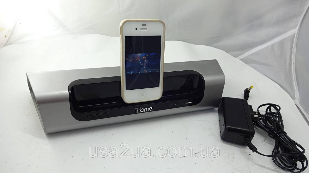 Мощная Док-станция Ihome ID8 для Iphone Ipod на Аккумуляторе ДОСТАВКА ГАРАНТИЯ