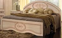 Кровать двуспальная Василиса. Мебель для спальни.