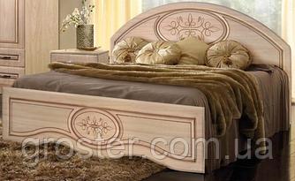 Кровать полуторная Василиса. Мебель для спальни.