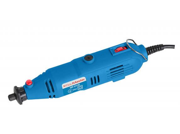 Гравер електричний BauMaster 200 Вт GM-2310E, фото 2