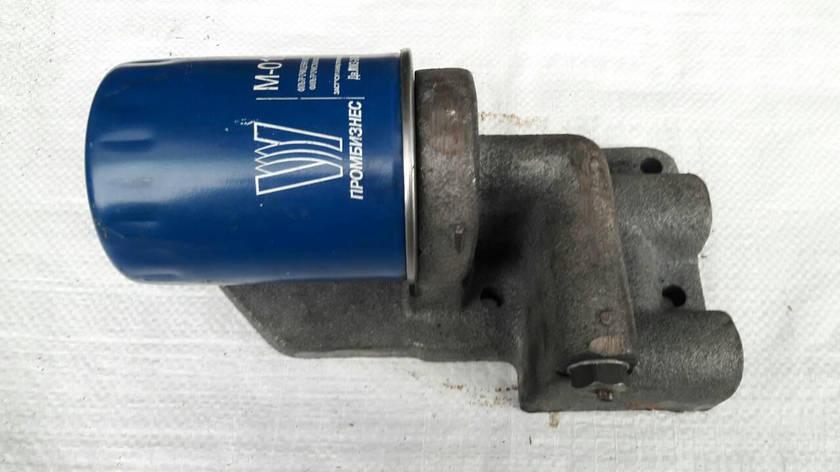 Фильтр масляный ЮМЗ вместо центрифуги Д48-09-С01-В, фото 2