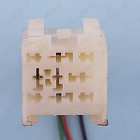 Разъем электрический 9-и контактный (38-34) б/у