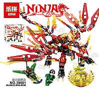 Lepin Красный Огненный Дракон, Серия Ninjsaga - конструктор