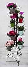 Кована підставка для квітів Спіраль 12