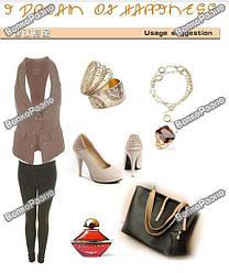 Мужские и женские товары (одежда, обувь, сумки, кошельки и зажигалки)