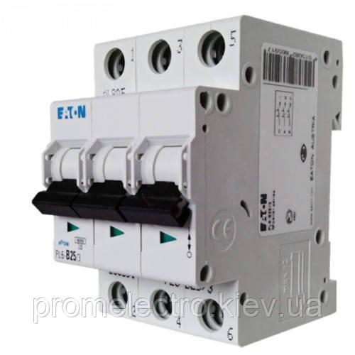 Автоматический выключатель  EATON PL4 C25 3p (293162)