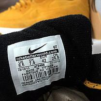 Кроссовки мужские Nike Air Max рыжие топ реплика , фото 3