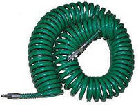 Шланг спиральный для пневмоинструмента с переходниками 8*12*15м Vitol V-81215P Код: 653703431