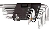 🌟 Набор Torx ключей Topex - 9 шт.