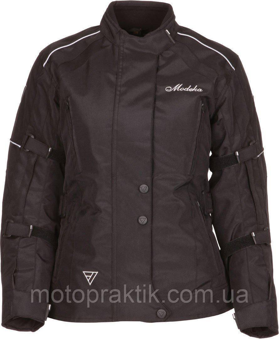 Modeka Janika Lady Black  Sz.32 Мотокуртка женская