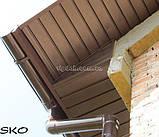 Софіт ASKO перфорована і без перфорації (коричневий), фото 2