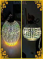 3D-Светильник потолочный подвесной Е27