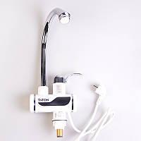 Водонагреватель электрический проточный (кран) 3000Вт Tinton (SSLT111AH), фото 1