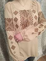 Нежная женская вышиванка