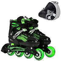 Детские Ролики Best Rollers, 5800 Зеленый