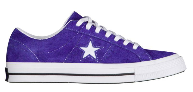 Кроссовки Кеды (Оригинал) Converse One Star Ox Court Purple — в ... 07940664f1096