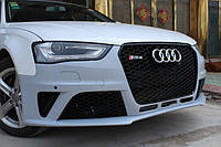 Бампер обвес Audi A4 B8 рестайл стиль RS4